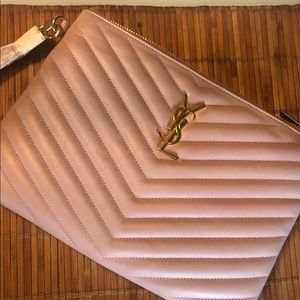 NEVER USED YSL POUCH MONO